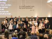 Børn syngja